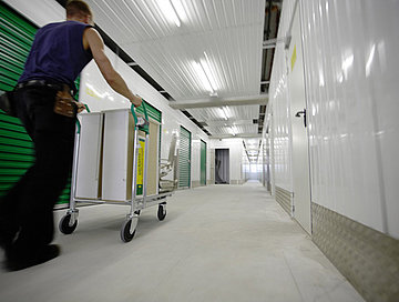 Self Storage corridor at Pickens